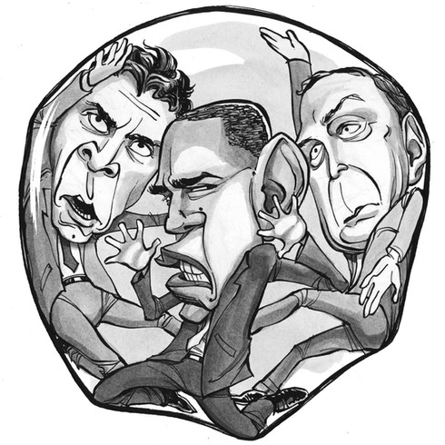 Cuomo, Obama, Bloomberg, for the NY Post