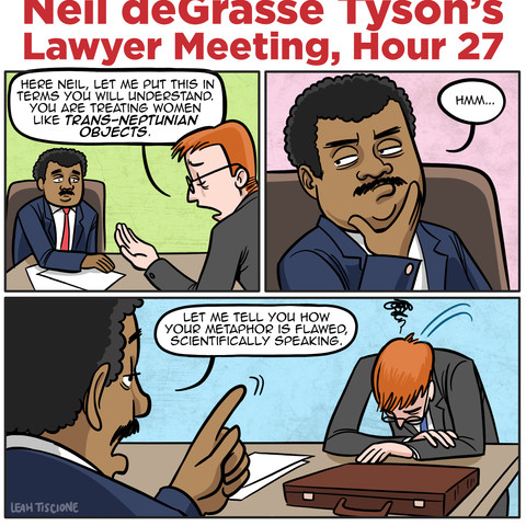 Tedious Neil, for MAD Magazine