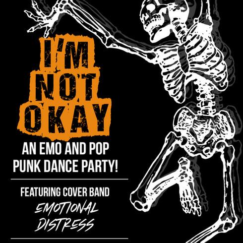 Halloween Emo Theme Party, for DJ Baby Van Beezly