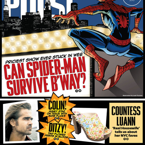 Spiderman, for NY Post