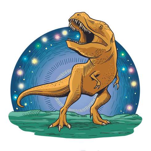 Celestial Dinosaur, for Sky & Telescope