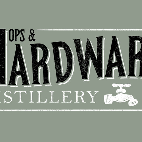 Hops & Hardware logo design