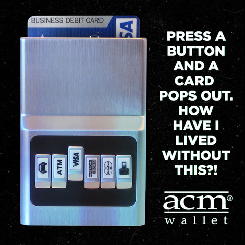 Advertisement, ACM Wallet