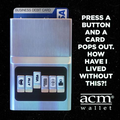 Advertisement, ACM Wallet