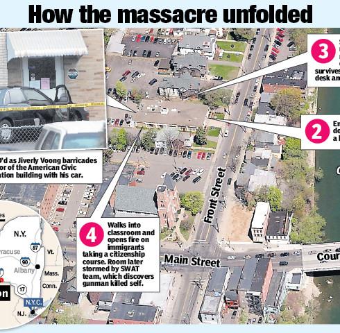 Tragic Map, for the NY Post