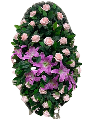 Ритуальные венки в Екатеринбурге  из искусственных цветов для похорон