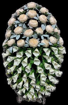 Ритуальные венки в Екатеринбургеиз искусственных цветов для похорон