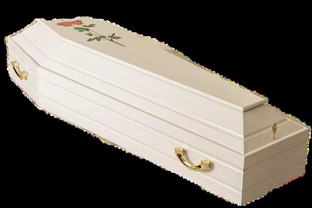 """Гробы лакированные из натурального дерева купить в """"ПроРитуал"""""""