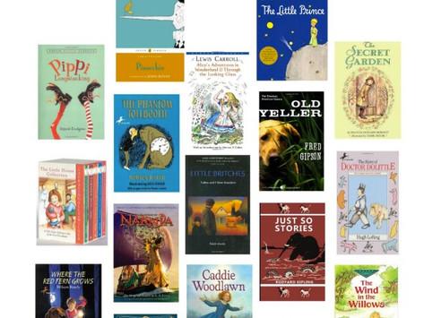 #BabyIncPick TOP 5 Children Book Reading Lists