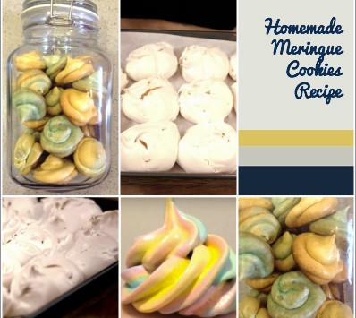 #Recipe: Homemade Meringue Cookies