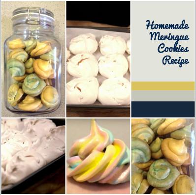 Homemade Meringue Cookies Recipe