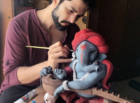 RAQESH BAPAT starts an online art auction to help COVID-19 patients!