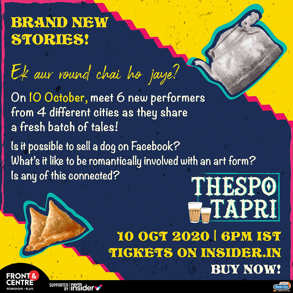 Thespo, as student driven moveemnt to stream plays this October!
