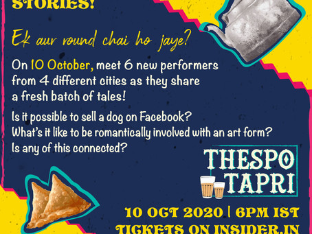Thespo to showcase online live performances with THESPO TAPRI initiative!