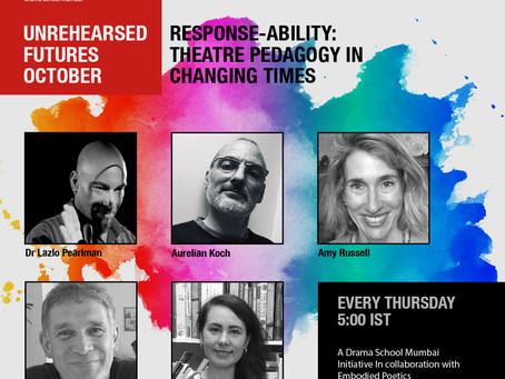 Every Thursday: Unrehearsed Futures October with DSM!