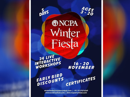 [ Multi-Arts] This winter your kids can attend the Online Winter Fiesta at NCPA!