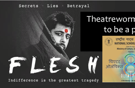 """Theatre Interview:  Directing """"Flesh"""" at Theatreworms and Theatre Olympics"""