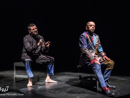 [Photo Flash] Iranian theatre director Mehrān Ranjbar brings Steve Jobs to stage! [Iran]