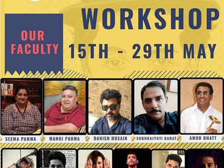 Theatre Workshop:  Rangbaaz Annual Acting Workshop!