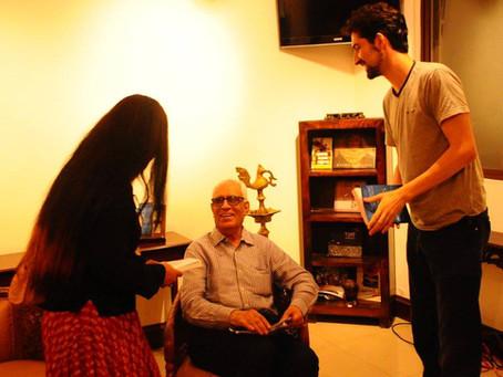 At 80, Author Surendra Kumar Sagar talks aggressive international geo-politics in DEEP STATE!