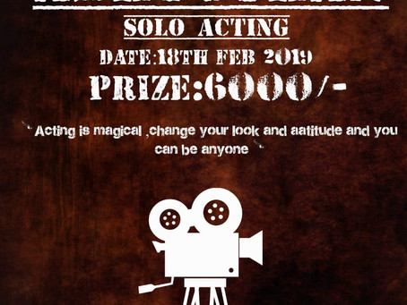 Theatre Preview: ARMY INSTITUTE of TECHNOLOGY invites you to a solo theatre competition! [ INDIA]