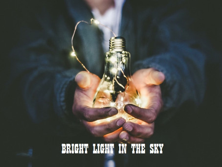 10 questions with the author of BRIGHT LIGHT IN THE SKY! [ INDIA]