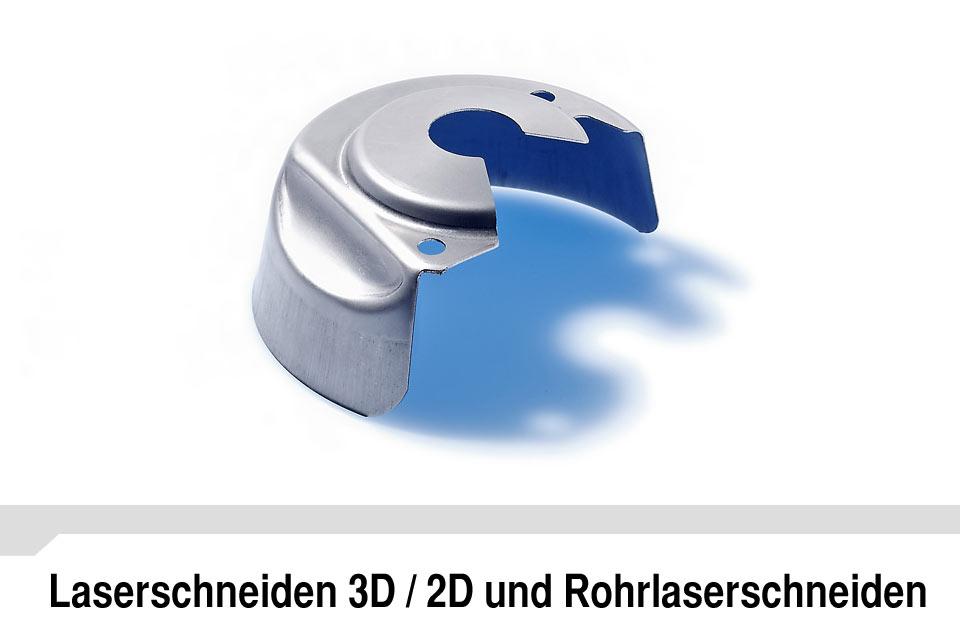 Laserschneiden 3D/2D Rohrlaser