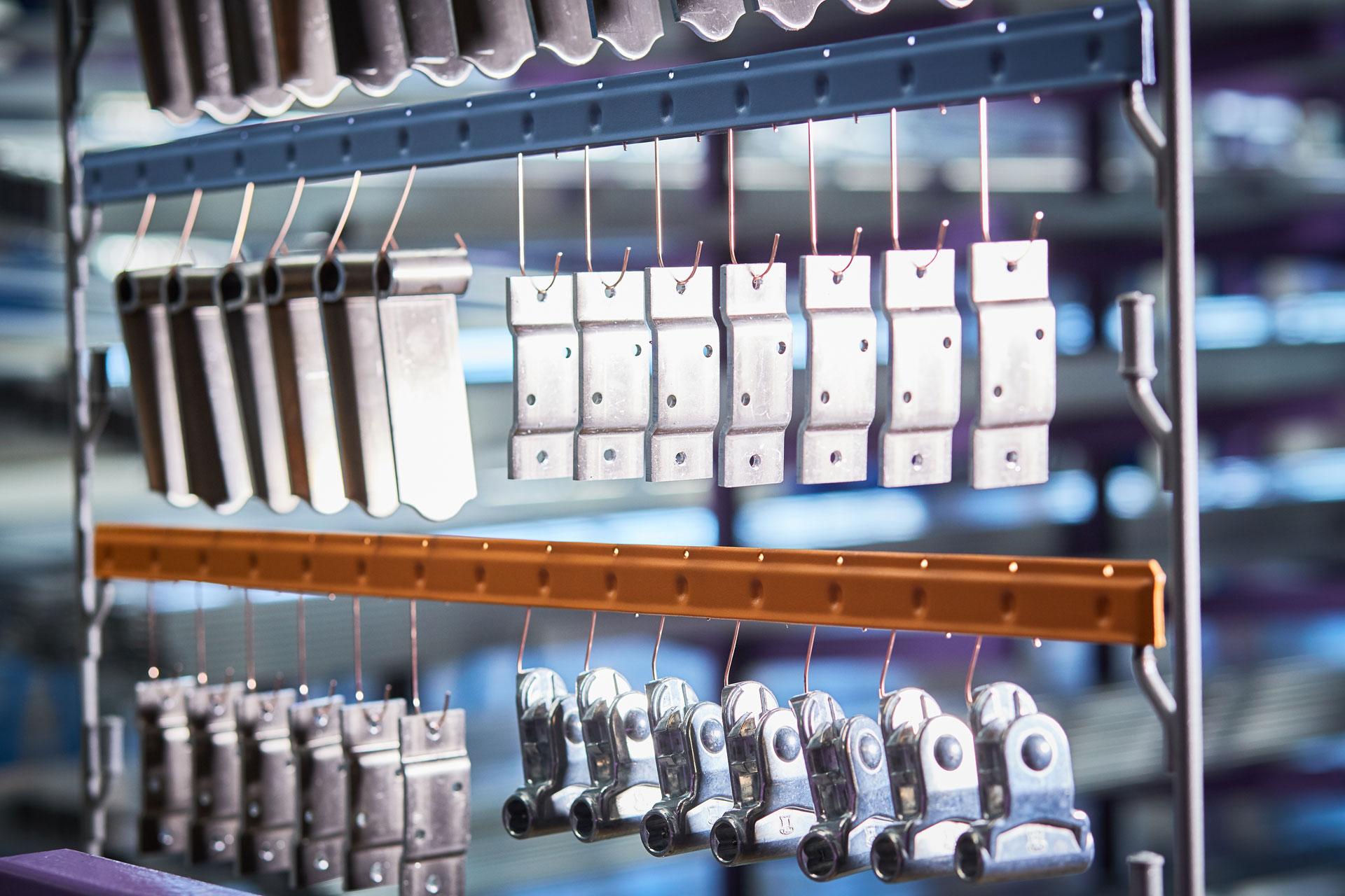 Zubehörteile für den Aluminiumbau