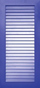 Fensterladen mit Lamellen