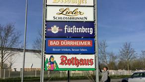 Werbeanlage für Kloos Getränke