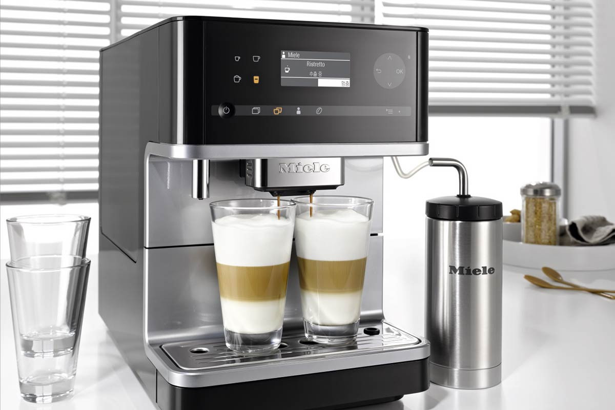 2C FIM Display-Cover of the Miele coffee machine CM6