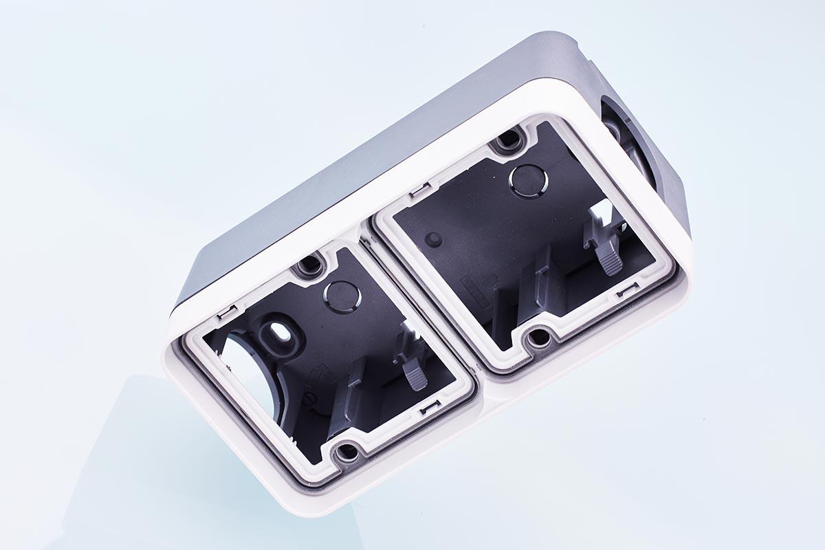 Plate-Waterproof-Double vertical + Box-Waterproof-Double Vertical