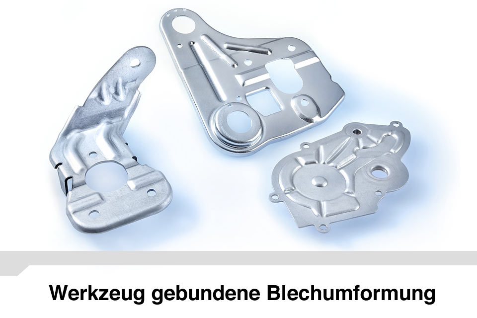 Werkzeug gebundene Blechumformung