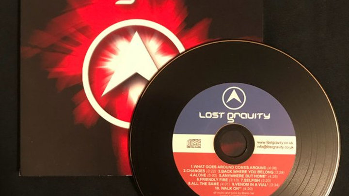 LOST GRAVITY CD