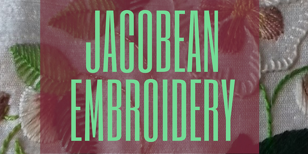 Brodwaith Jacobean Embroidery