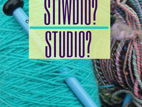 Uned Stiwdio yn Tecstiliau / Studio Unit at Tecstiliau