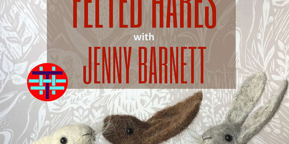 Felted Hares