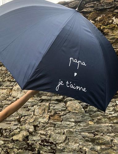 Sidonie le parapluie JE  T AIME