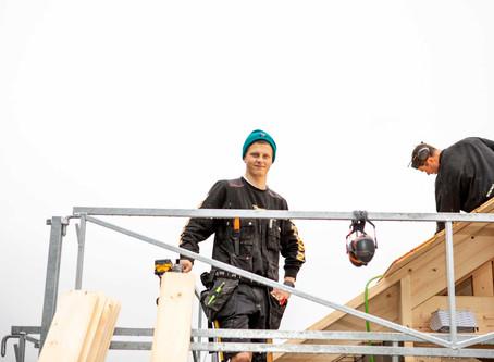 Tømrer er beste yrke en kan ha!