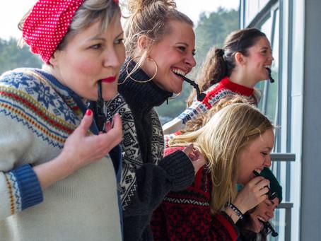 Midtnorsk kultur- og strikkefestival er blitt internasjonal