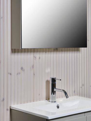 Detalj speilskap