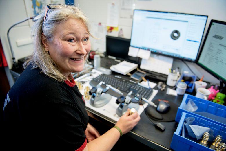 Linda Helen Skårild jobber med kvalitetssikring hos Jankos.