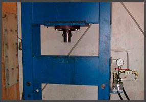 Hydraulisk presse 60 tonn