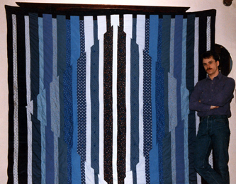 A Father's Day quilt by Todd DuBay 1992
