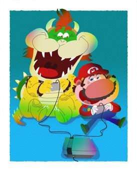 Everybody Loves A Good Villain: Super Game Bros.