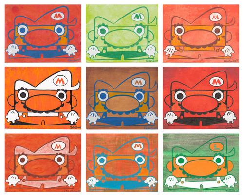 Nine Marios