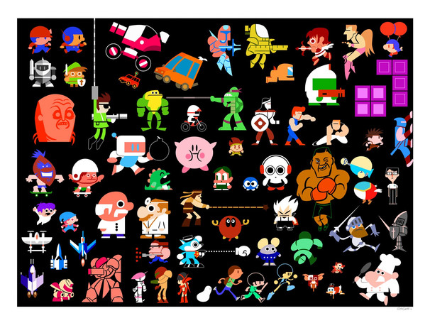 Icons of the NES