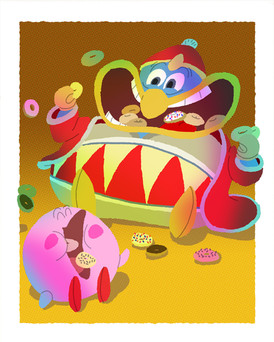 Everybody Loves A Good Villain: Donut Friends