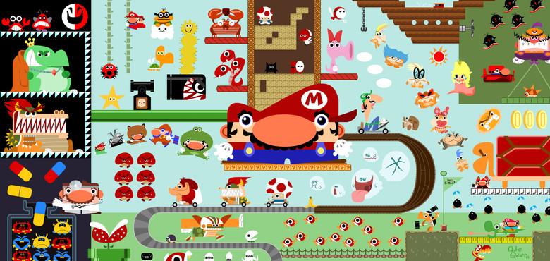 Mario Poster for Nintendo Power Magazine