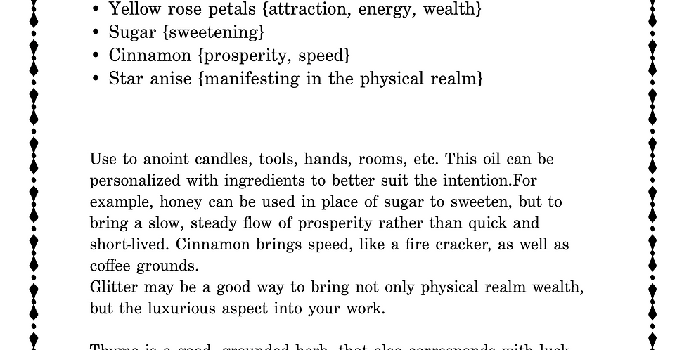 Prosperity Oil